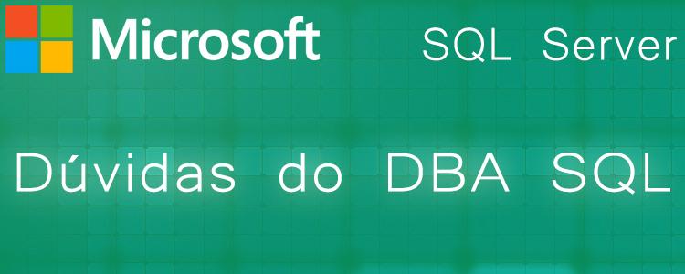 Dúvidas do DBA